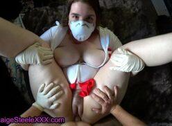 Xxx sin virus follando enfermera enmascarada